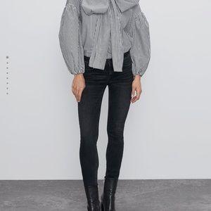 Zara ZW Premium Skinny Jeans Uptown Black